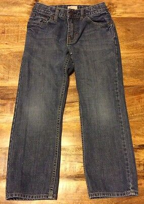 Boys Size 7 Gap Kids Straight Fit Jeans With Adjustable Waist