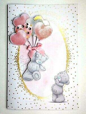 For My GIRLFRIEND CUTE Tatty Teddy Me To You Happy Birthday Card SO ADORABLE
