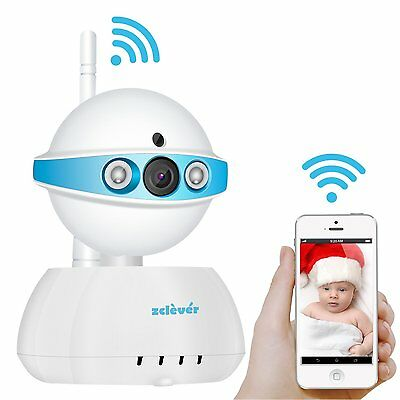 Video Baby Monitor Two Way Audio 720P Wireless Wifi Security Camera Night Vision