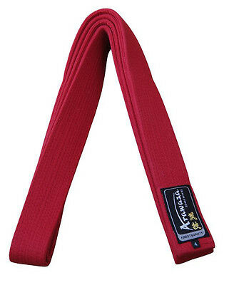 Arawaza Red & Blue Karate Competition Belts New WKF Approved Obi