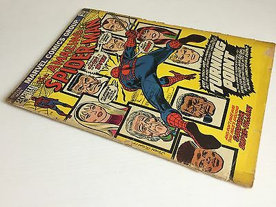 The Amazing Spider-Man N. 121 Marvel Comics 1973 Usa Gd 3.0 Death Of Gwen Stacy