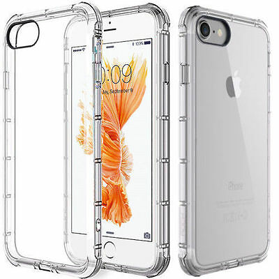 For Apple iPhone 6 / Iphone 6s Case Clear Cover Shockproof Rubber Protective TPU