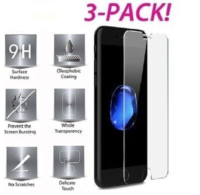 """Premium Real Tempered Glass Film Screen Protector for Apple 5.5"""" iPhone 6 Plus"""