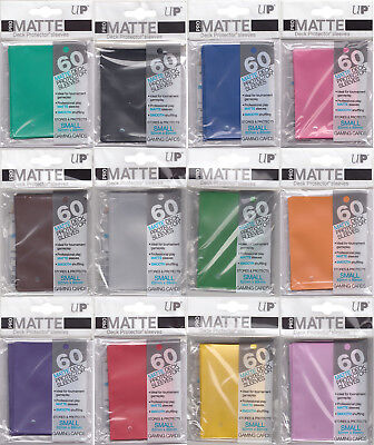 Ultra Pro Matte Small Trading Card Sleeves Deck Protectors 60 Pack Yugioh Size