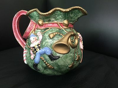 Fitz & Floyd Holiday 1995 Pitcher