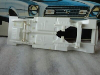 Vintage Original Amt 1974 Ford Mustang Used Unpainted Kit # T346