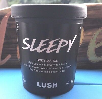 LUSH SLEEPY BODY LOTION+95g & 215g+BRAND NEW+BABY SLEEP REMEDY+EXPIRY DEC 2018+