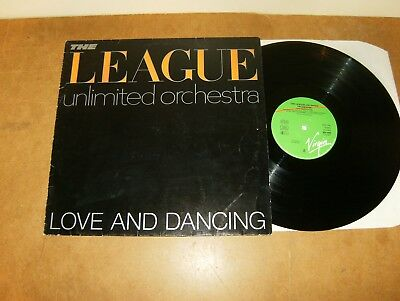 The League Unlimited Orchestra : Love And Dancing - Germany Lp 1982 - Virgin
