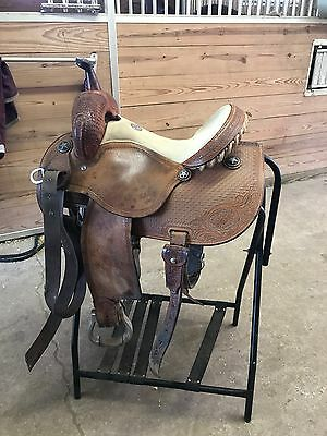 "Used Martin Racer Barrel Saddle 14"" by Martin Saddlery"