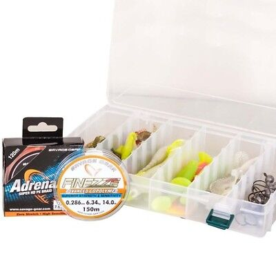 Savage MPP Bulk Lure Kit (Line Automatically Included) - Light 40 Pieces