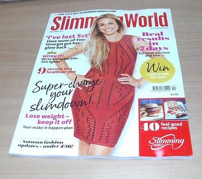 Slimming World magazine OCT 2017 Results in 7 Days. 40 Recipes, Autumn Fashion