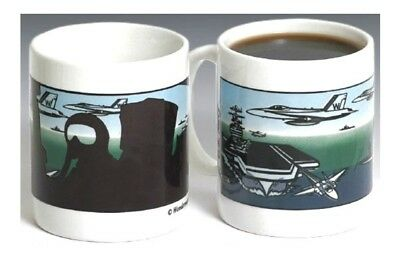 Wondermugs Picture Changing U.s Navy Armed Forces Coffee Mug Cup Heat Activated