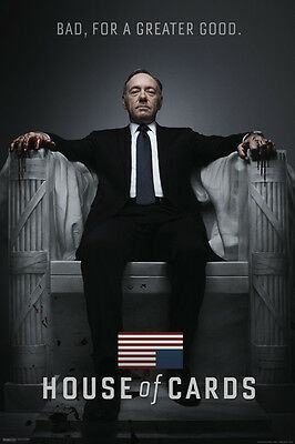 HOUSE OF CARDS 24X36 Poster Wall Art Decor American Tv Series Show