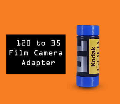 35mm to 120 film camera adapters Kodak Canon Nikon