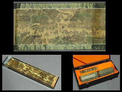 Large Chinese handscroll 656cm