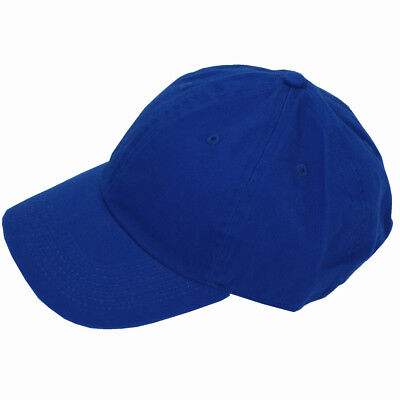Plain Solid Washed Cotton Polo Style Baseball Ball Cap Caps Hat Adjustable  Navy c0dd72b9dc42