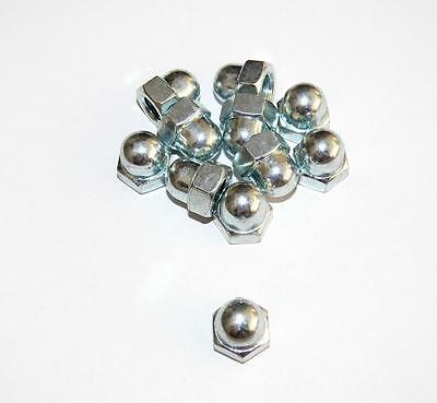 Domed cap nuts M10, 12, 14, 16 galvanized , high Form , DIN 1587 , Cap nut