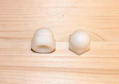 Domed cap nuts M10 , 12, 16 Plastic , high Form , DIN 1587 , Cap nut