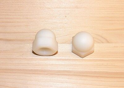 Domed cap nuts M3, 4, 5, 6, 8 Plastic , high Form , DIN 1587 , Cap nut