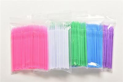100x Disposable Micro Clean Brush Eyelash Extensions Mascara Wands Applicator FT