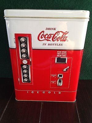 Coca Cola Machine Tin Container