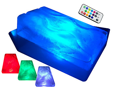 King Luge- Dual-Track Ice Luge Mold (W/ Led Remote)