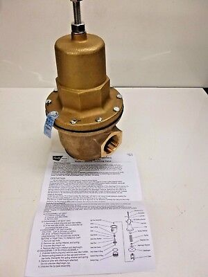 "New!! Apollo Water Pressure Reducing Valve, 1-1/2"", 36Hlf20701"