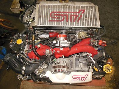 JDM Impreza WRX STi EJ207 Engine 2002 STI Version 7 Engine TY856WB1CA Prodrive
