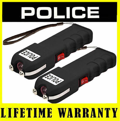 POLICE STUN GUN 928 Max Voltage Heavy Duty Rechargeable With LED