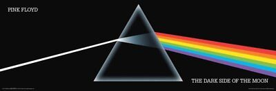 Pink Floyd Poster The Dark Side Of The Moon Print Classic Music Band 36x12 NEW