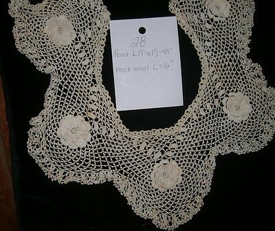 Antique Lace  Victorian collar  cat #28