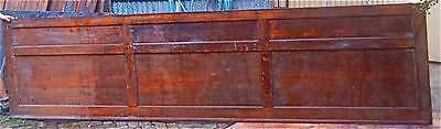 Tiger Oak wood panel  Wainscot  Architectural  Antique  raised  long panel