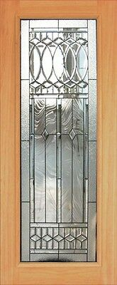 Hand Made Leaded Stained Glass Mahogany Entry Door - Jhl2167 - 95