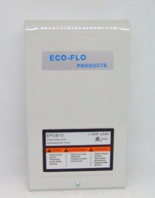 """Eco Flo 1 HP Control Box for 4"""" Well Pump"""