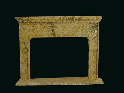 Hand Carved Marble Estate European Design Fireplace Mantel - Tz5