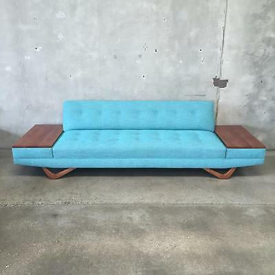 Mid Century Sofa in the manner of Adrian  Pearsall.