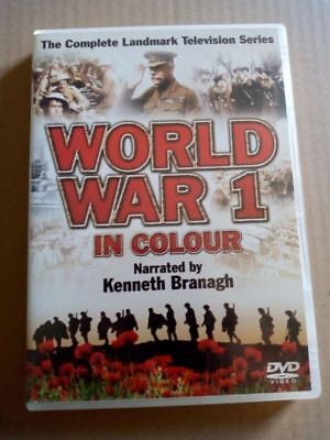 World War 1 In Colour - Complete TV Series (DVD)