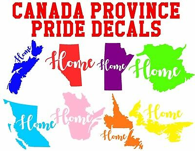 Canadian Province Car Decals Canada Car Decals Canada Province Stickers