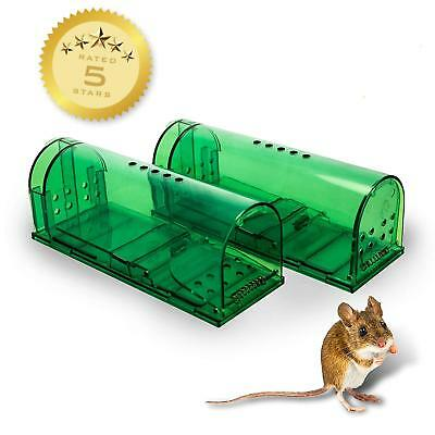 Humane Mouse Traps - Set of 2 - Live Catch and Release - LIMITED CLEARANCE SALE