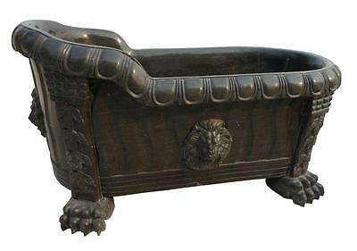 Beautiful Hand Carved Marble Lion Designer Bath Tub - Tub 68
