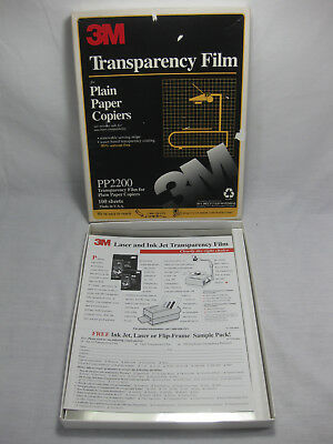 Pack of 69 Sheets of 3M Transparency Film Removable Sensing Stripe