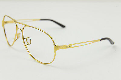 Oakley CAVEAT Polished Gold Aviator OO4054-17 Sunglasses Frames Only 60-14-137