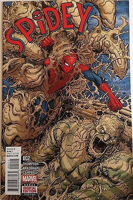 Spidey #2 Marvel Comic Book Spider-man NM First Print