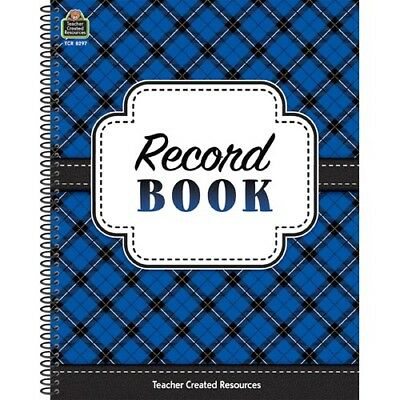 Plaid Record Book by Teacher Created Resources  - Plaid Record Book