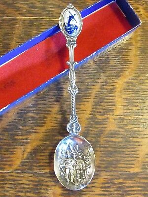 "Vintage Silverplate ""holland"" Souvenir Spoon"