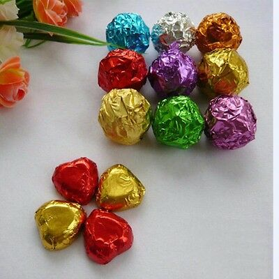 Colorful Silver Paper for Candy Chocolate Gift Wrapping Packing Paper Disposable