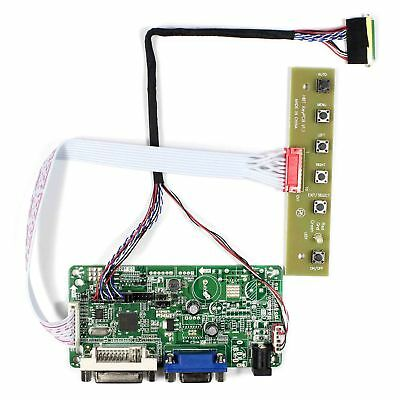 VGA DVI LCD Controller Board work for 10.1 Inch LED 40Pin 1366x768 LCD panels