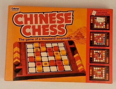 Chinese Chess Board Game Gabriel 1981 Vtg Sealed Complete Thousand Surprises CBS