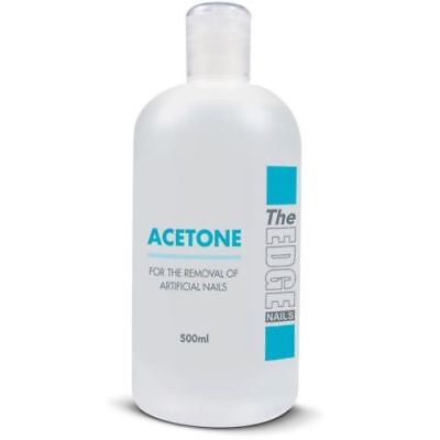 The Edge Acetone Nail Tip Remover Acrylic Uv Gel Nails Uv Polish Remover 500ml