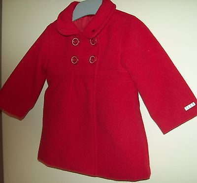 Baby Girl's Elle lined coat Size 6 months (New with Tags)